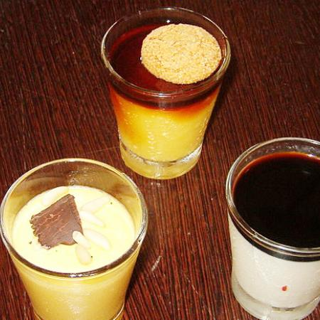 Vinegar desserts