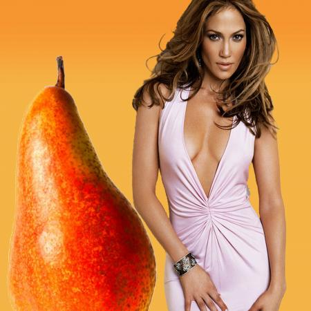 Pear Body Type - Jennifer Lopez