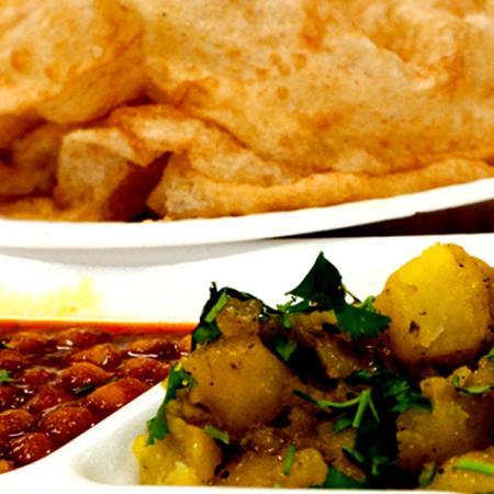 Channa Aloo Puri