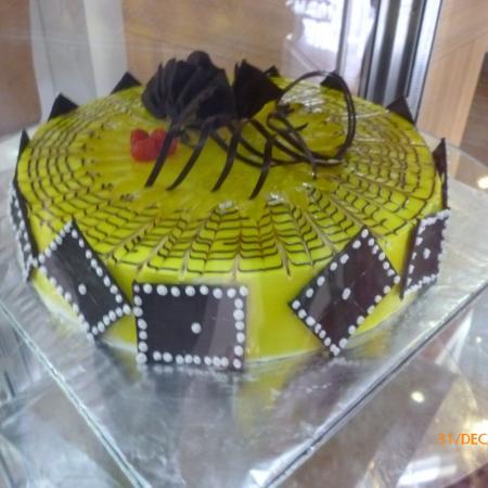 Choco Mango Cake