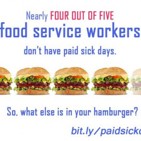 No Sick Days For Fast Food Workers
