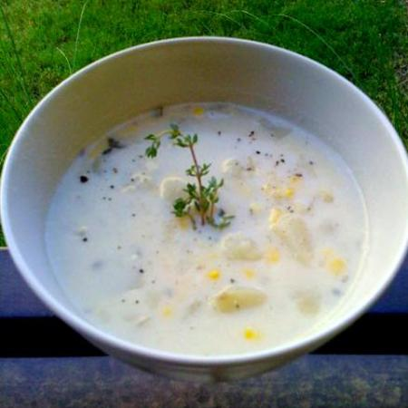 American Dinner Menu  - Starter (Soup)