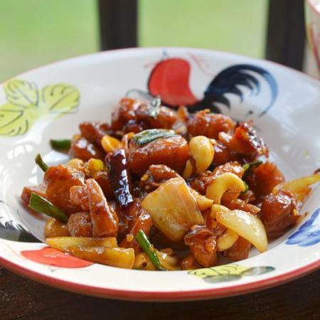 Sechuan Style Fried Chicken