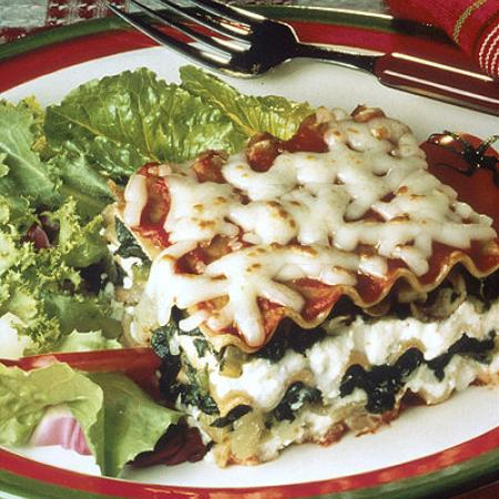 whole wheat lasagna