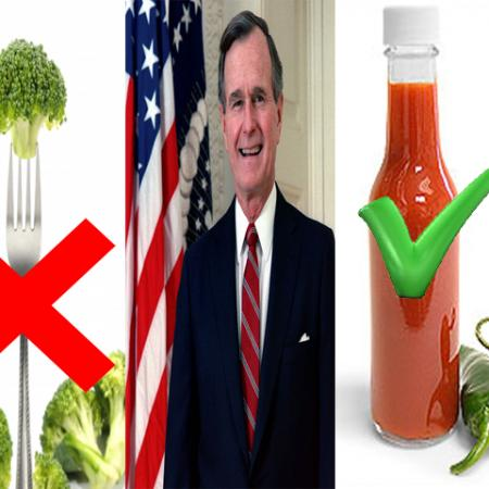George H W Bush and Hot Sauce