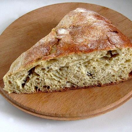 Strazzata Bread
