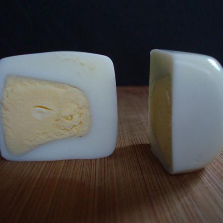 Cubic Egg Halves