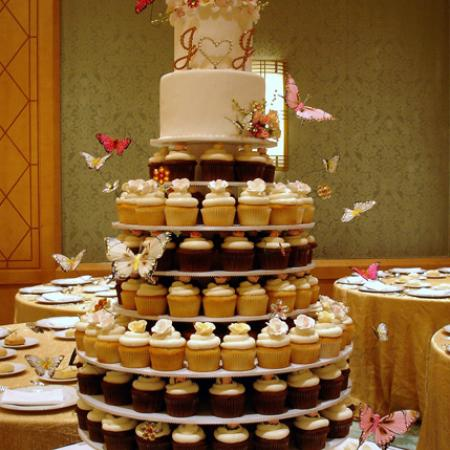 Wedding Cupcake Tier