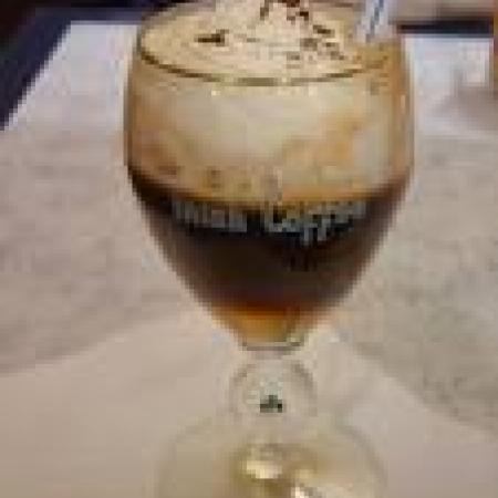 Coffee in a Stem Glass