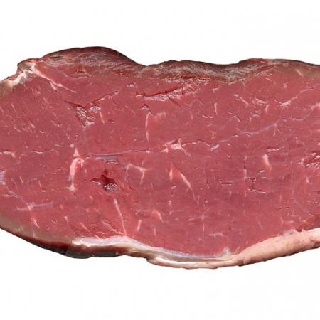 Rohes Rumpsteak