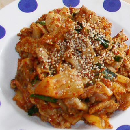 Kimchi bokkem