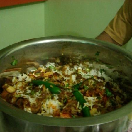 Chicken Biriyani with Chillies
