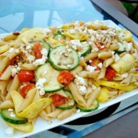 Pasta With Autumn Vegetables