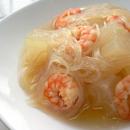 Tougan shrimp soup