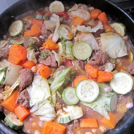 Tunisian lamb couscous