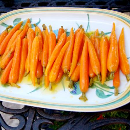 Brown Sugar Baby Carrots