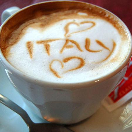 Cappuccino Loves Italy