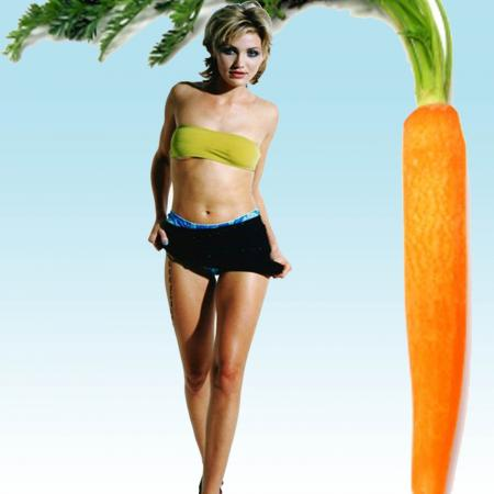 Carrot Body Type - Cameron Diaz