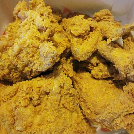 Popeyes mild Chicken
