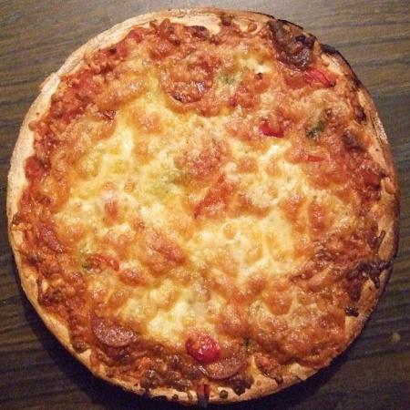 Venison Pepperoni Pizza