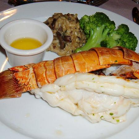 Lobster tail with sides
