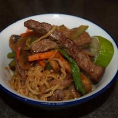 Meat Noodles