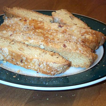 Plate of Biscotti