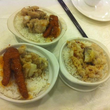 Rice with Chicken foot