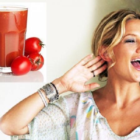Kate Hudson's Tomato Juice