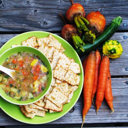 Summer Squash And Vegetable Soup