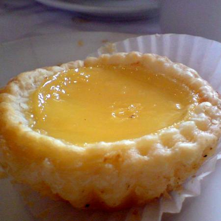 Egg Tart at Han Palace