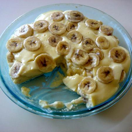 Delicious Banana cream pie