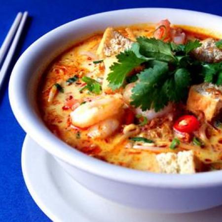 Malaysian Seafood Soup