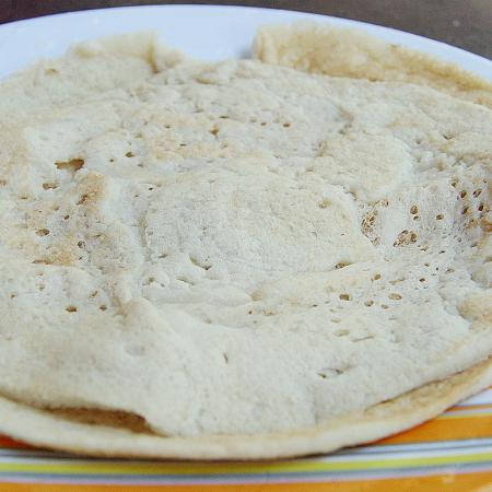 Homemade Plain Dosa