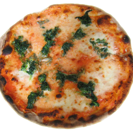 Spinach Oven Pizza