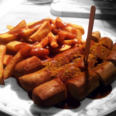 Vegetarisch Vegane Currywurst