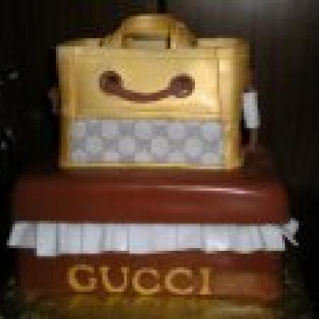 Gucci Bag Cake
