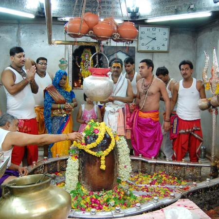 Parjanaya Yag Festival At Lord Mahakaleshwar Temple, Ujjain, India