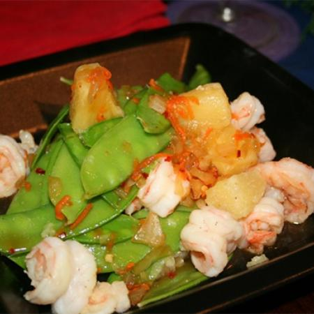 Sweet And Pungent Shrimp