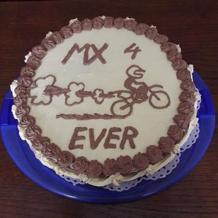 Motocross Madness Birthday Cake