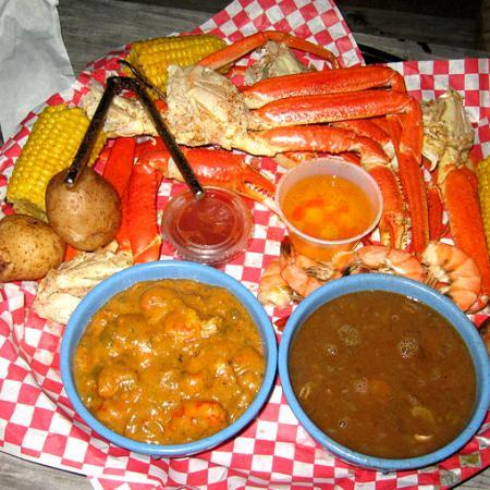 Cajun Etouffee Gumbo Shrimp Crab