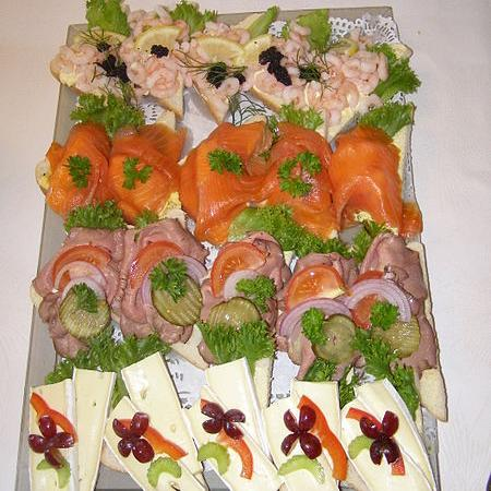 Norwegian open sandwich