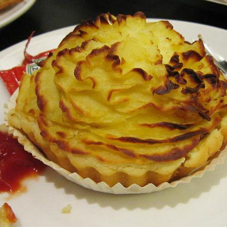 Mushroom with Mashed Potatoes Pie