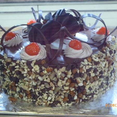 Choco Nut Cake
