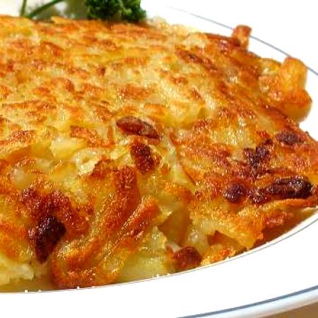 Rösti, the Swiss potato dish
