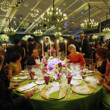 The State Dinner Decor