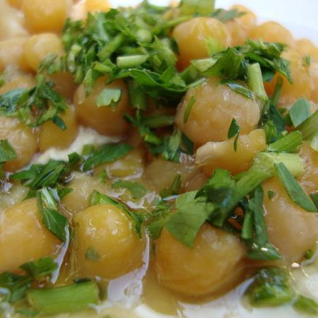 Humus Chickpea Salad