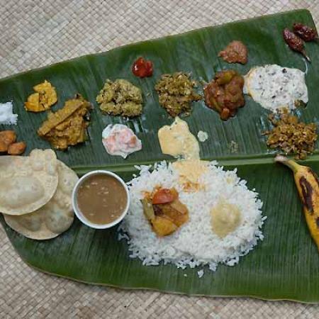 Onam Festival Food