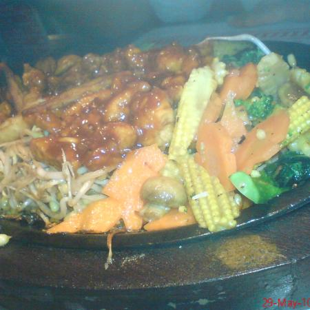 Chicken  Vegetable Sizzler