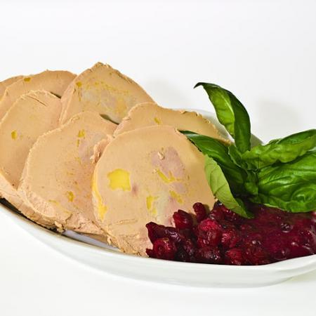 Foie gras with duck liver